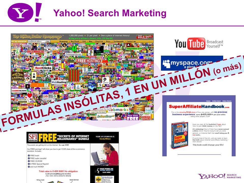 Yahoo.Search Marketing Agenda 1. El Search en la vida cotidiana 2.