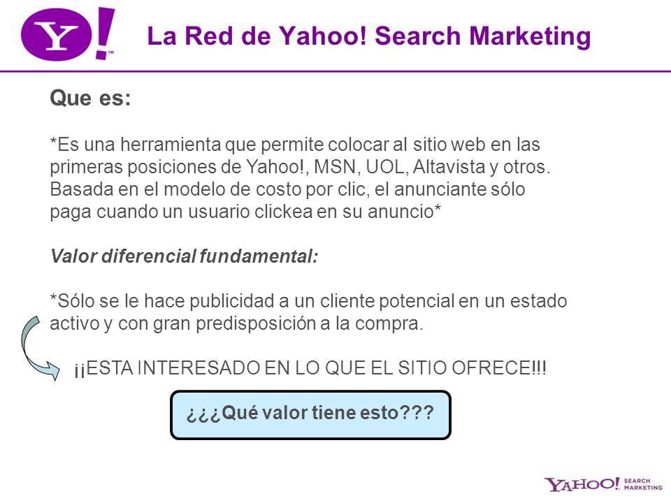 Que es: *Es una herramienta que permite colocar al sitio web en las primeras posiciones de Yahoo!, MSN, UOL, Altavista y otros.