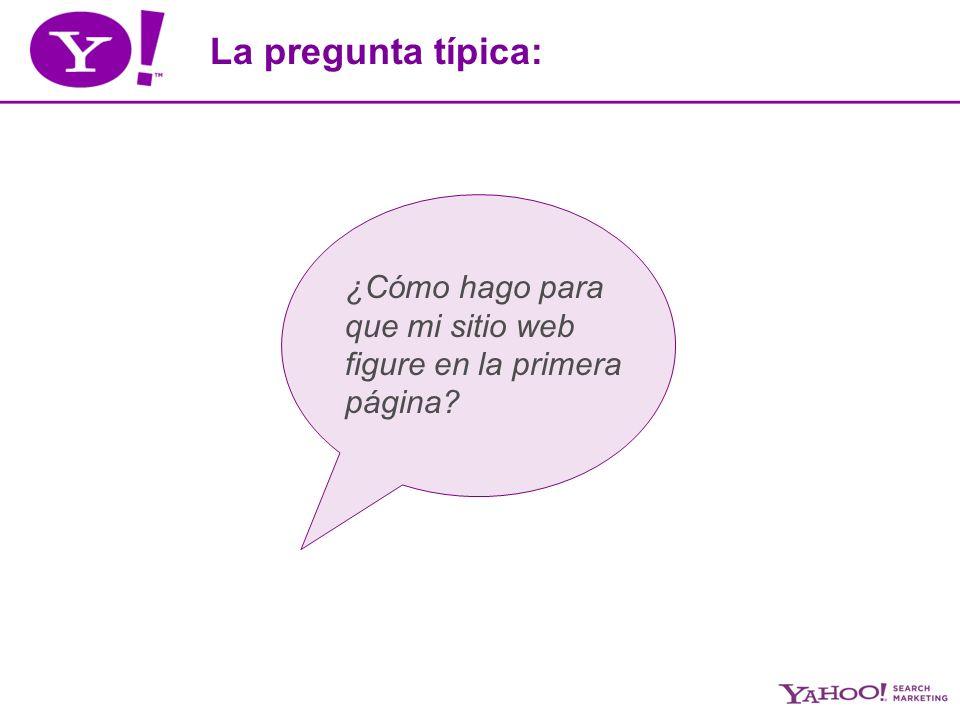 Yahoo.Search Marketing Dudas, consultas: Nicolás Forster Account Executive – SEM Specialist Yahoo.