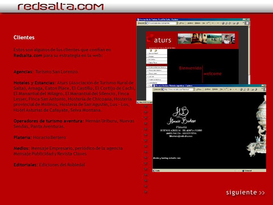 Premios Redsalta.com existe desde abril de 1998 antes con el nombre Salta.net hasta diciembre de 1999, que es cambiado por el definitivo Redsalta.com