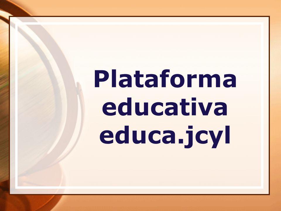 Plataforma educativa educa.jcyl