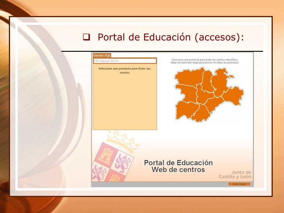 Carta de respuesta: Por si te sirve de ayuda, a continuación te facilito la url del mapa con los centros que han publicado su web hasta el momento: http://mapa.centros.educa.jcyl.es Puedes acceder también desde el Portal de Educación: enlace de banner Web de Centros.