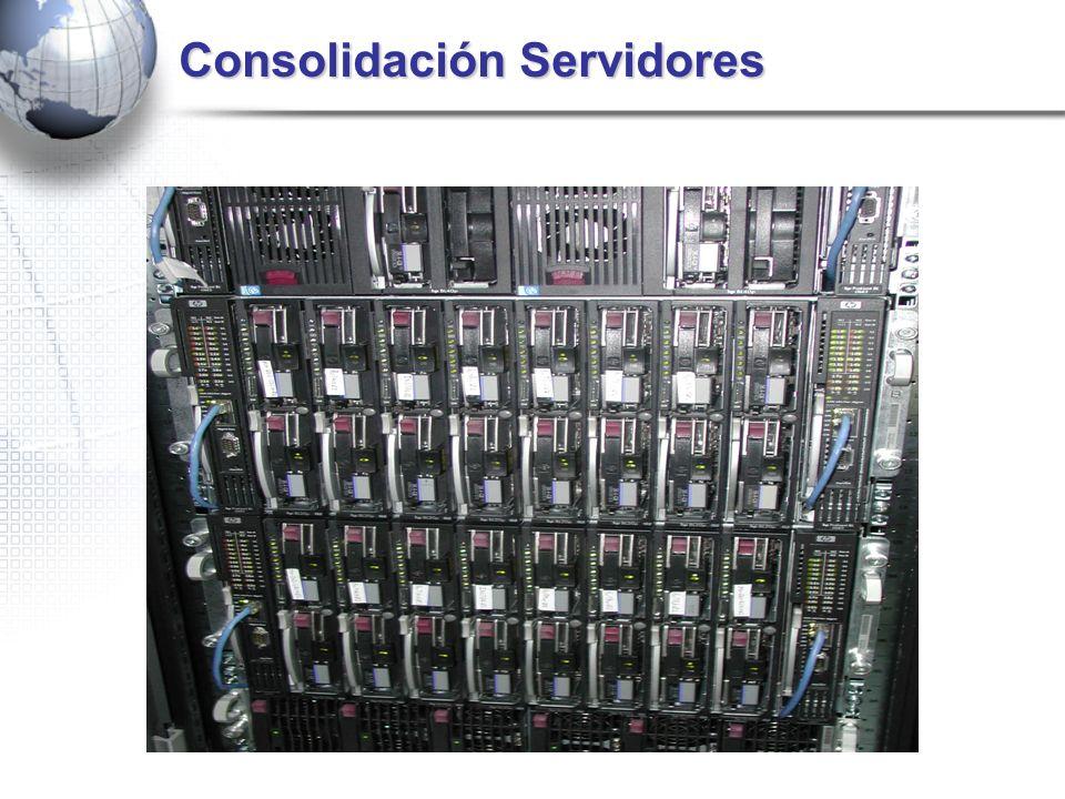 Consolidación Servidores