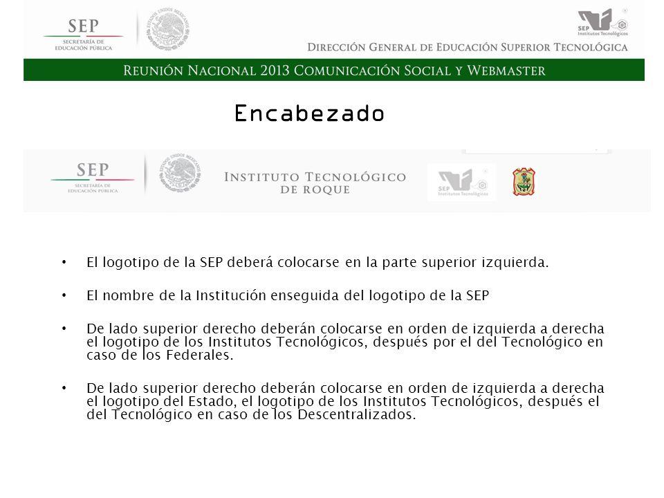 Cd. Madero 2009 Asamblea General Ordinaria del Consejo Nacional de Directores Hermosillo 2010 Encabezado El logotipo de la SEP deberá colocarse en la