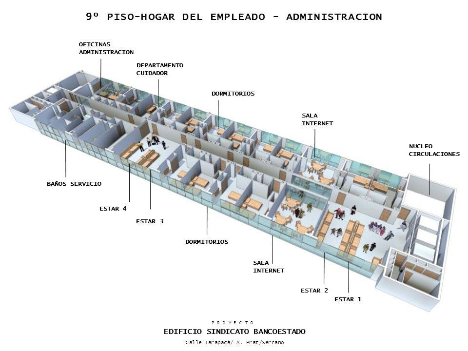 DORMITORIOS ESTAR 3 BAÑOS SERVICIO ESTAR 2 DORMITORIOS OFICINAS ADMINISTRACION DEPARTAMENTO CUIDADOR SALA INTERNET SALA INTERNET ESTAR 1 ESTAR 4 NUCLE