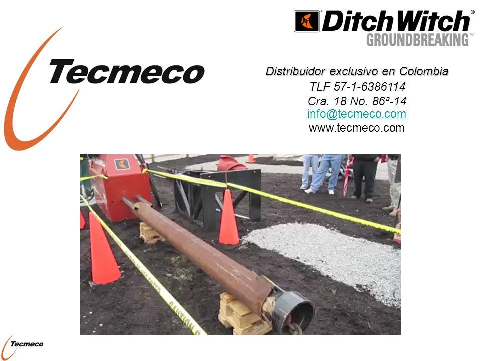 TECMECO SAS Distribuidor exclusivo en Colombia TLF 57-1-6386114 Cra. 18 No. 86ª-14 info@tecmeco.com www.tecmeco.com