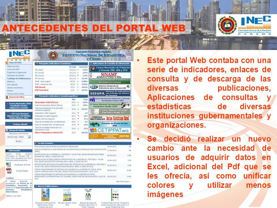LA ACTUALIDAD DEL PORTAL WEB Tecnología utilizada En el año 2010, se recurrió a una consultoría externa para la programación y el diseño del nuevo portal.