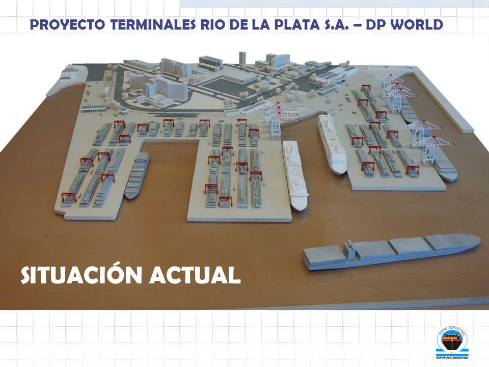 SITUACIÓN ACTUAL PROYECTO TERMINALES RIO DE LA PLATA S.A. – DP WORLD