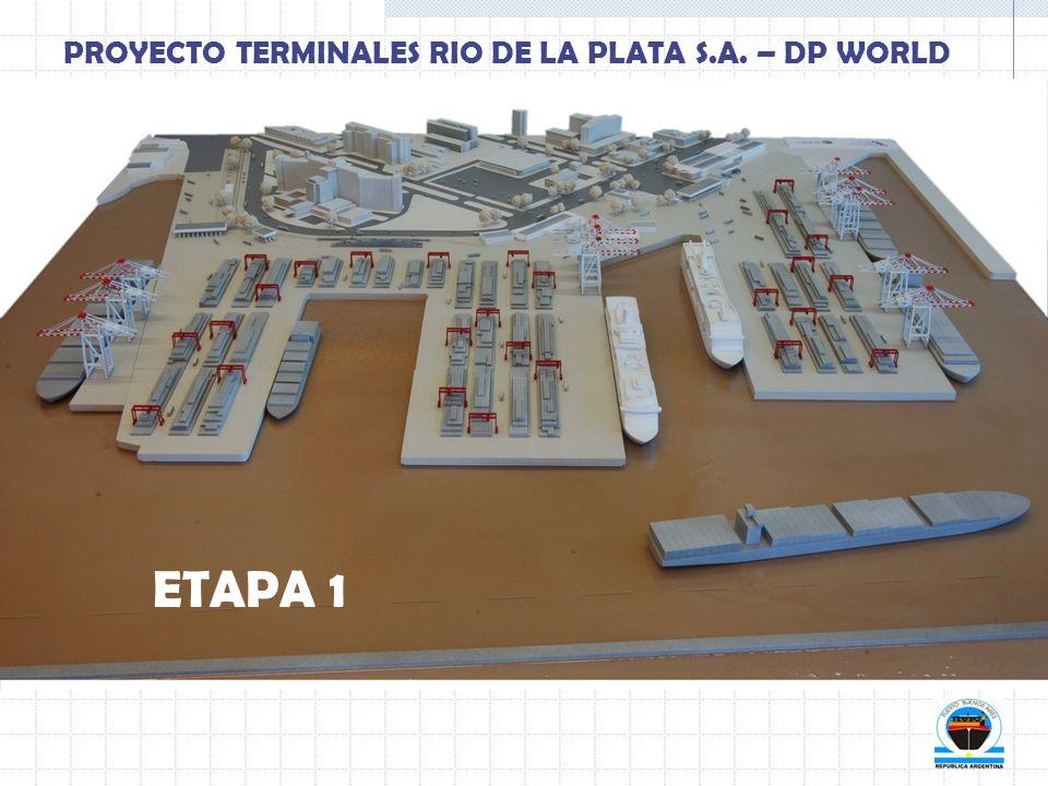 ETAPA 1 PROYECTO TERMINALES RIO DE LA PLATA S.A. – DP WORLD