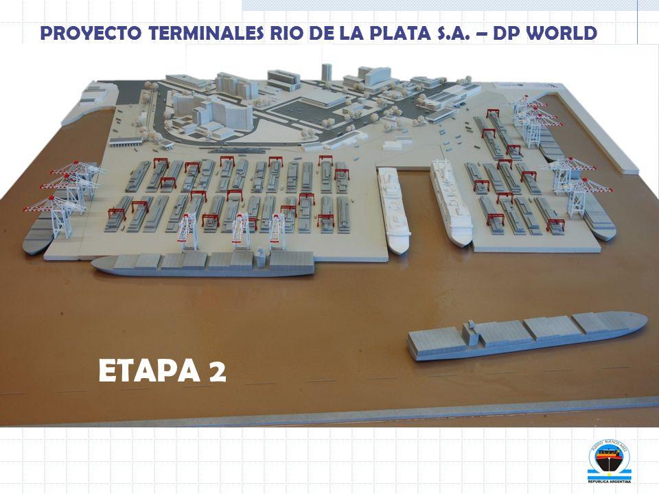 ETAPA 2 PROYECTO TERMINALES RIO DE LA PLATA S.A. – DP WORLD
