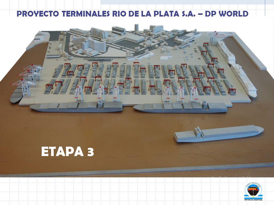 ETAPA 3 PROYECTO TERMINALES RIO DE LA PLATA S.A. – DP WORLD