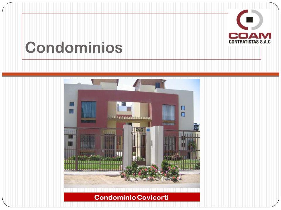 Condominios Condominio Covicorti