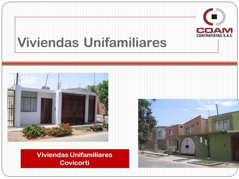 Viviendas Unifamiliares Covicorti Viviendas Unifamiliares