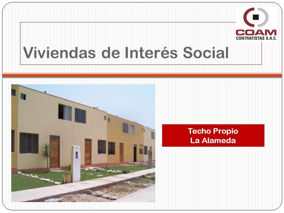 Viviendas de Interés Social Techo Propio La Alameda