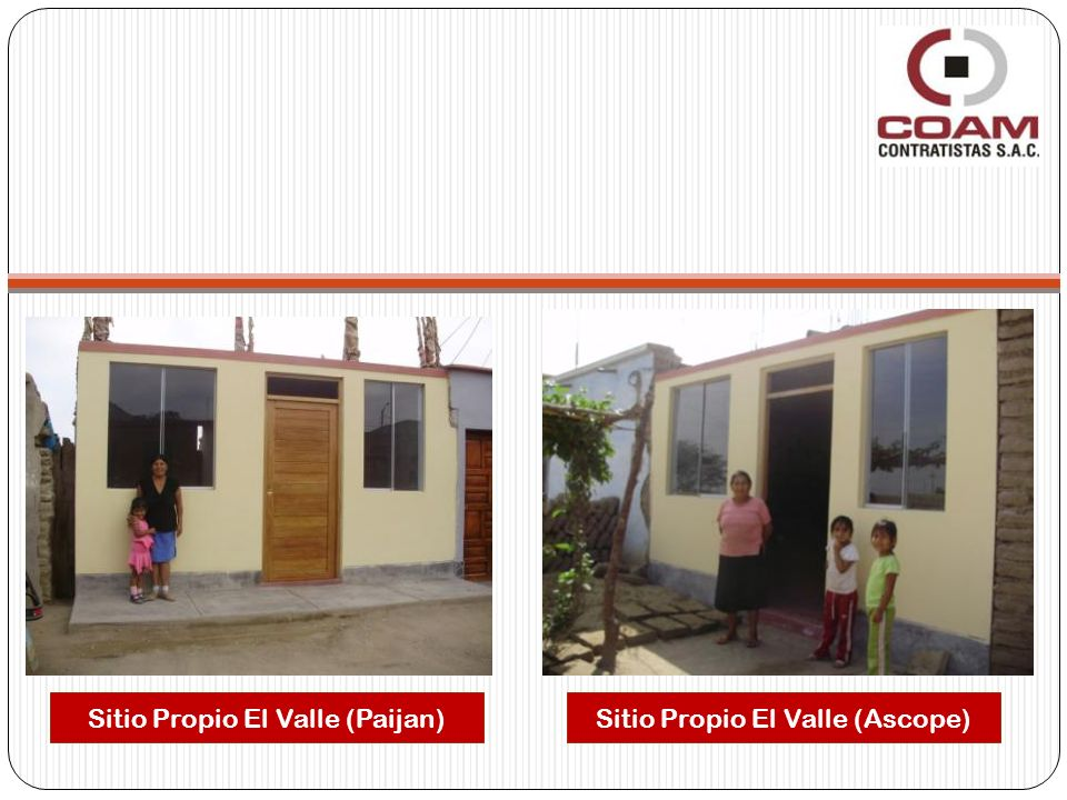 Sitio Propio El Valle (Paijan)Sitio Propio El Valle (Ascope)