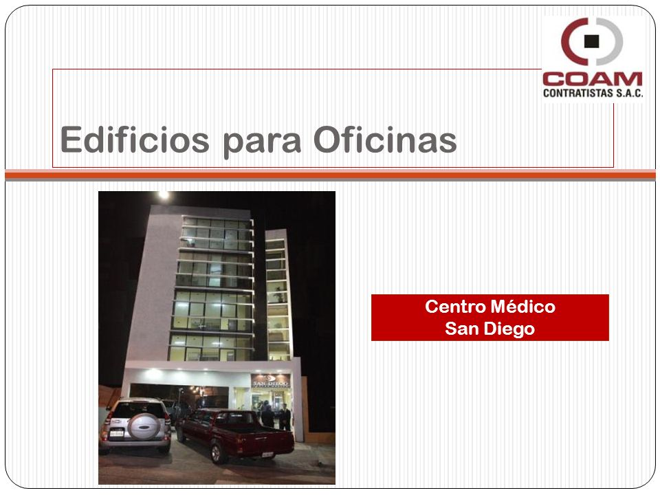 Edificios para Oficinas Centro Médico San Diego