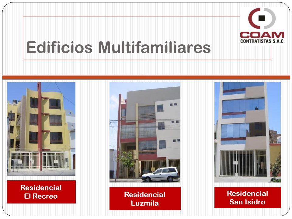 Edificios Multifamiliares Residencial El Recreo Residencial Luzmila Residencial San Isidro