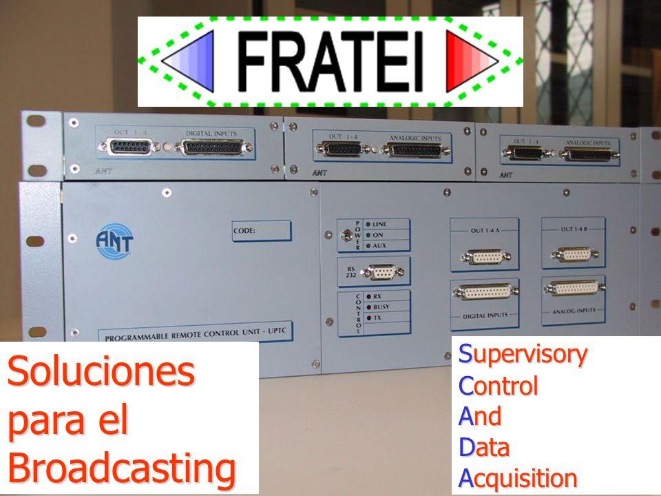 8 Supervisory Control And Data Acquisition Soluciones para el Broadcasting
