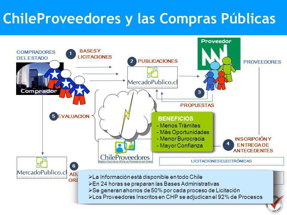PROVEEDOR COMPRADORES PUBLICOS Cumplimiento Normativa MERCADO COMPRAS PUBLICAS ChileProveedores Plataforma de Oportunidades de Negocio VISTA PUBLICA (CONTACTOS NEGOCIOS – COTIZACIONES) Difusión de Productos y Servicios COMPRADORES PRIVADOS Y/O PUBLICOS DIRECTORIO EMPRESARIAL REGISTROS ESPECIALIZADOS PLATAFORMA NEGOCIOS INTERNACIONALES