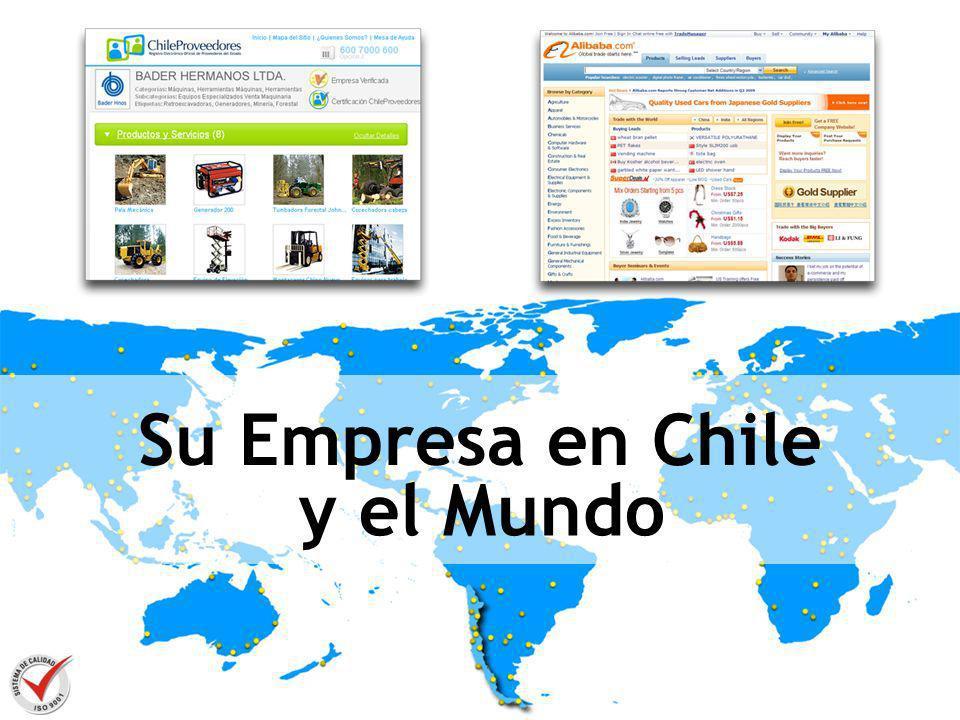 Su Empresa en Chile y el Mundo