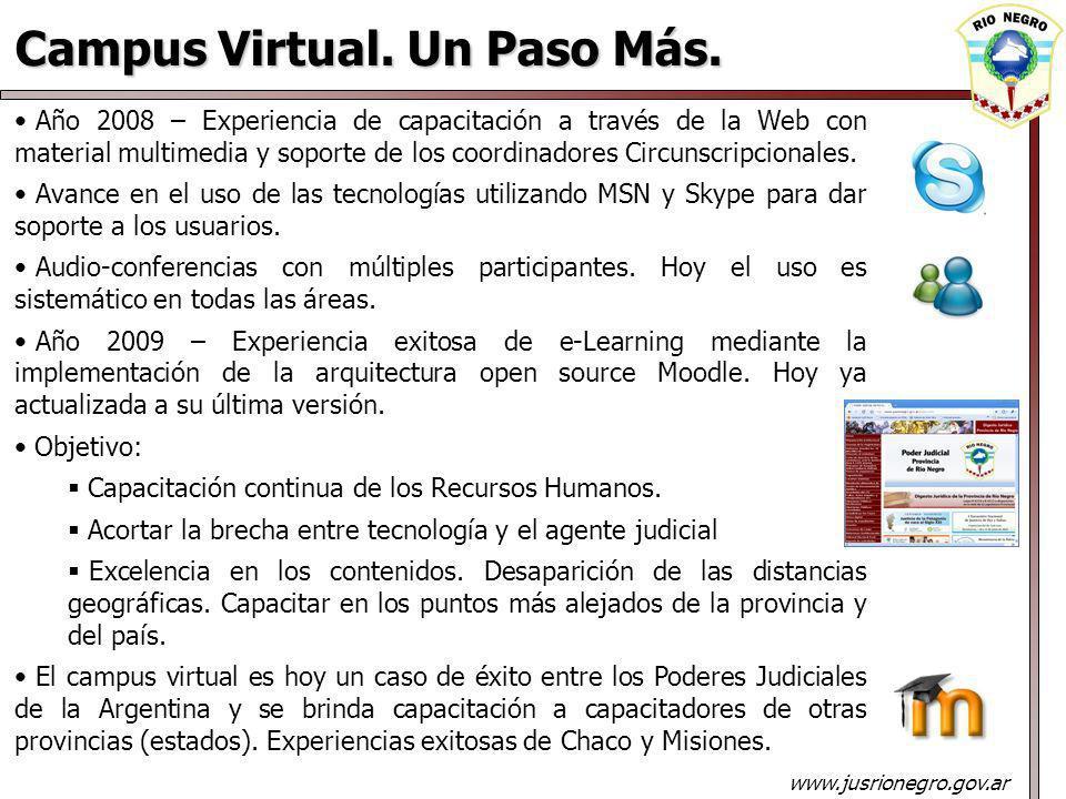 Campus Virtual.Un Paso Más.