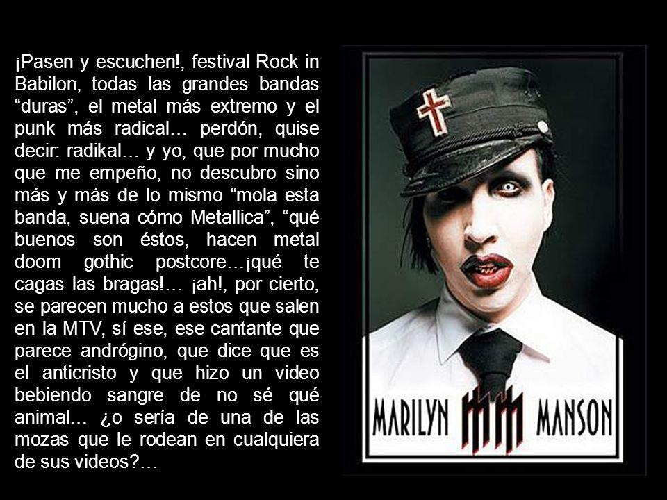Y así, el Rock, pasa a ser, no un estilo de música protesta, sino un segmento más de mercado.