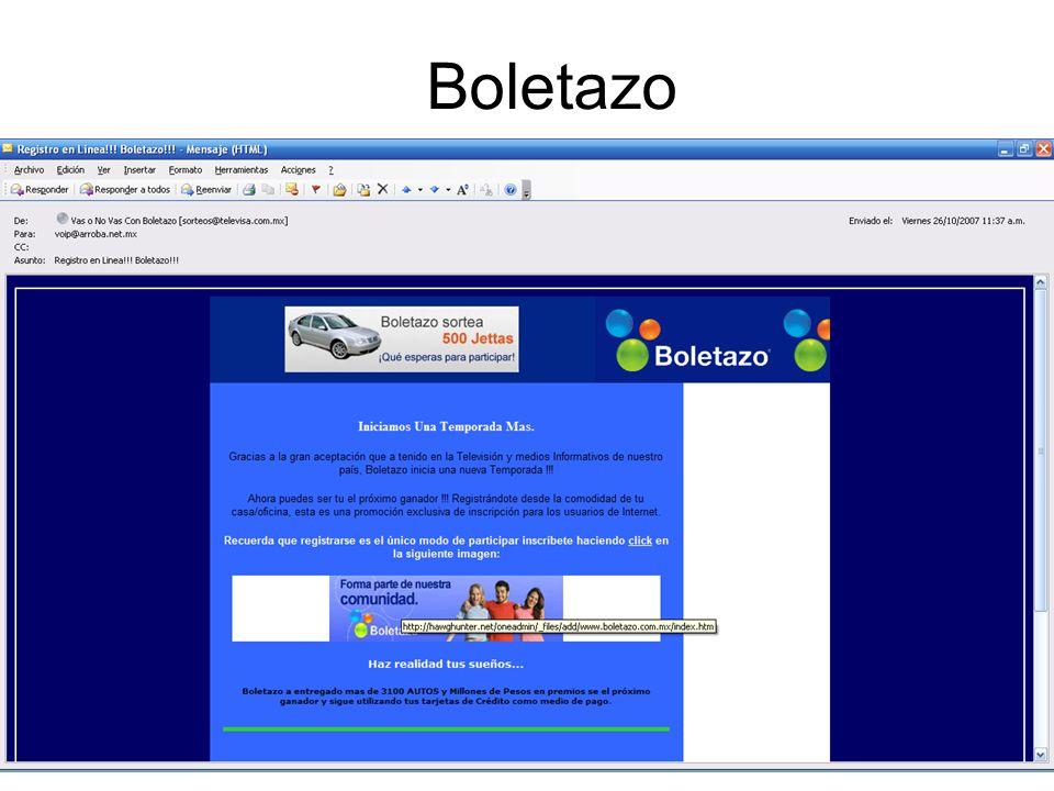 Boletazo