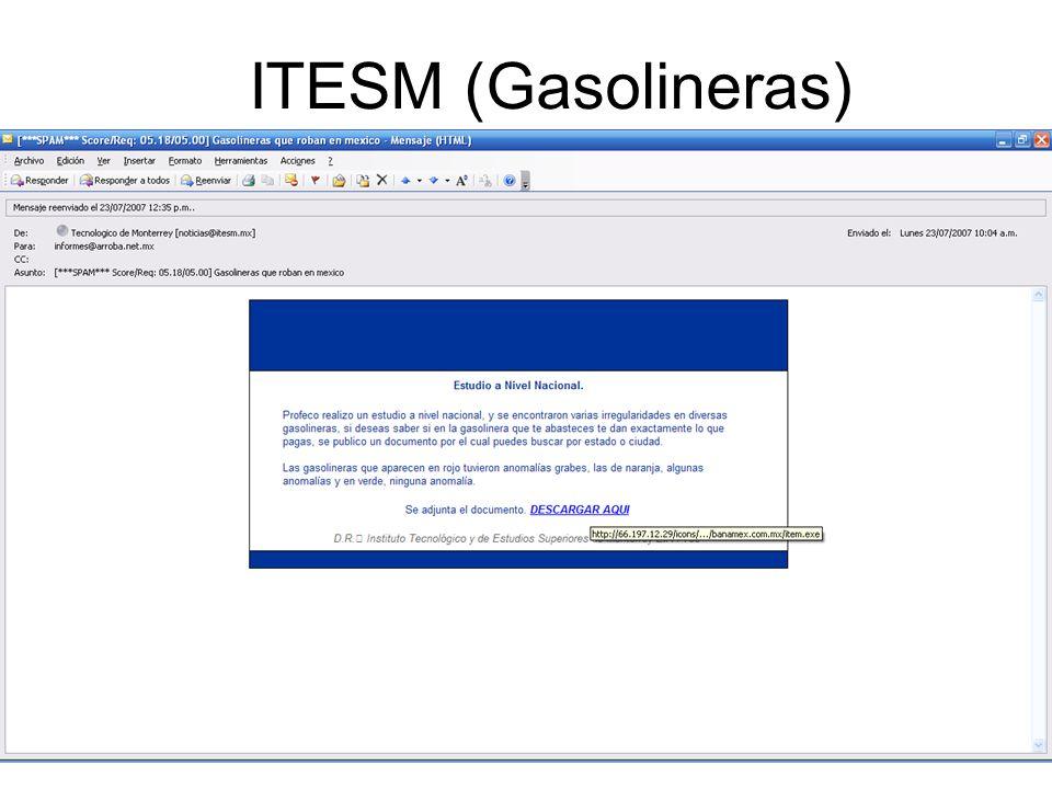 ITESM (Gasolineras)