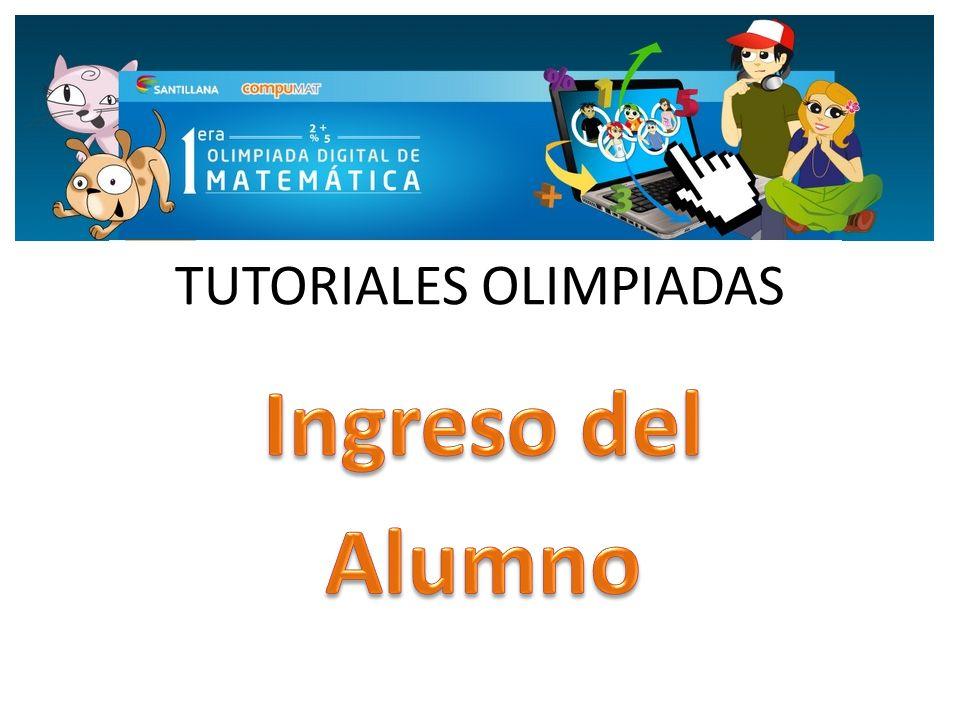 TUTORIALES OLIMPIADAS