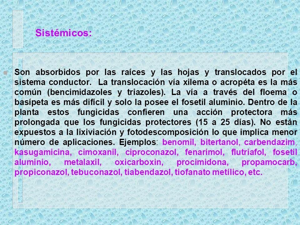 Efectos indirectos en el manejo de químicos 1.