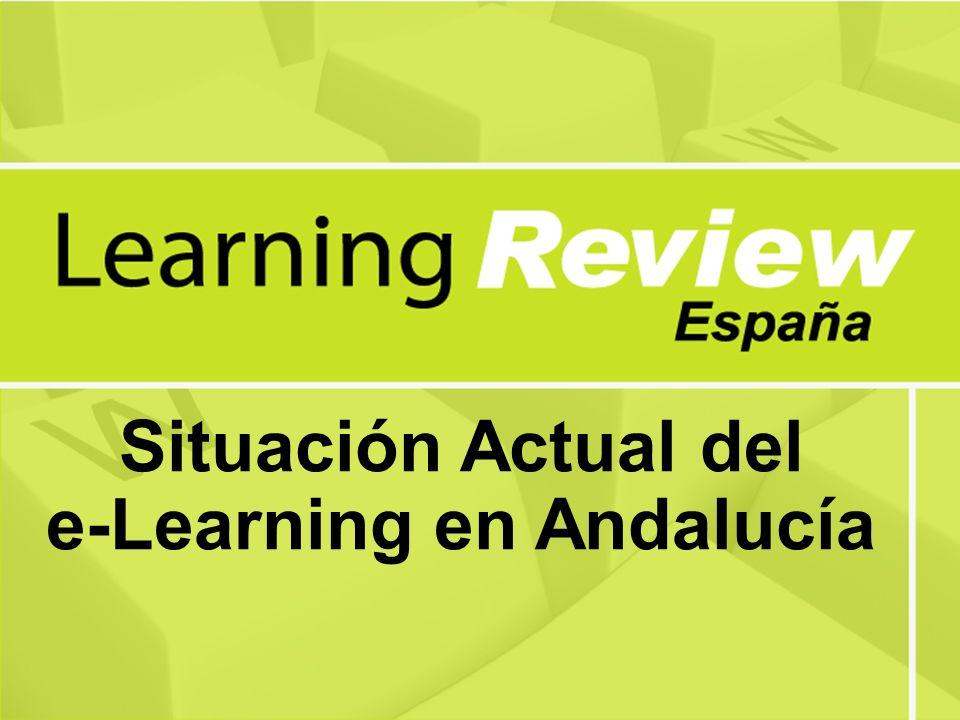 Situación Actual del e-Learning en Andalucía