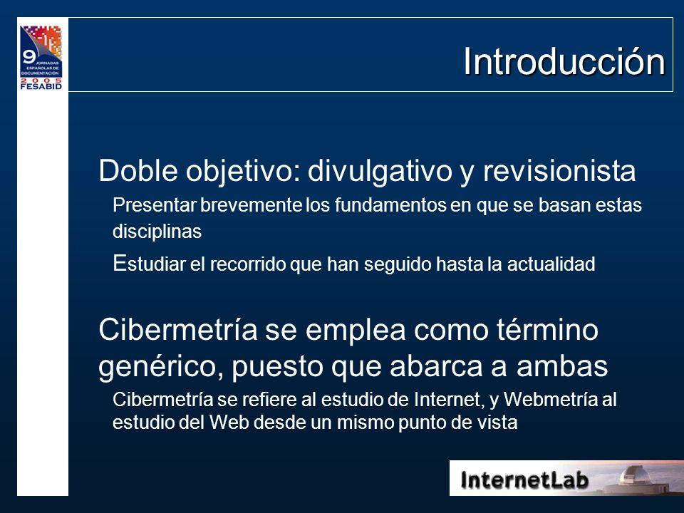 Introducción Doble objetivo: divulgativo y revisionista Presentar brevemente los fundamentos en que se basan estas disciplinas E studiar el recorrido