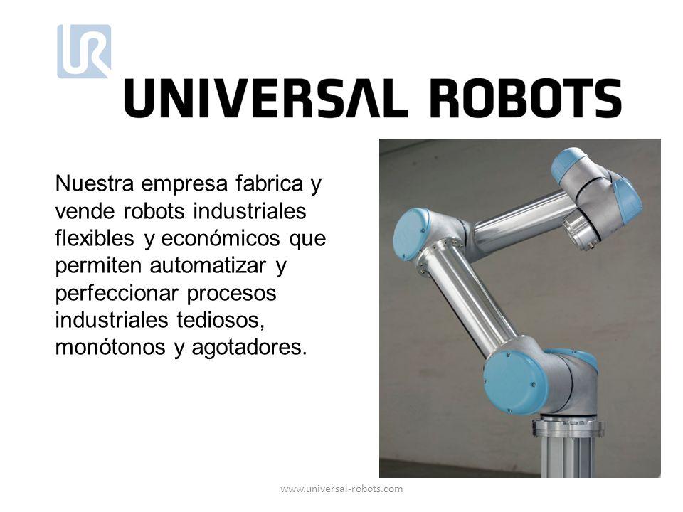 Nuestra empresa fabrica y vende robots industriales flexibles y económicos que permiten automatizar y perfeccionar procesos industriales tediosos, mon