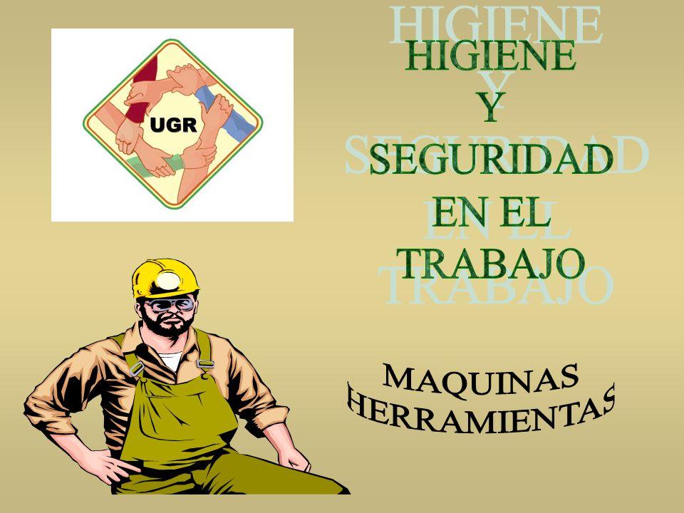 MAQUINAS HERRAMIENTAS - NORMAS DE SEGURIDAD - BALANCINES Antes de poner en marcha la máquina verifique que todas las guardas de protección estén en su lugar debidamente instaladas.