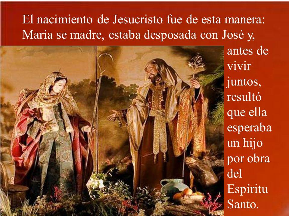 Jacob engendró a José, el esposo de María, de la cual nació Jesús, llamado Cristo.