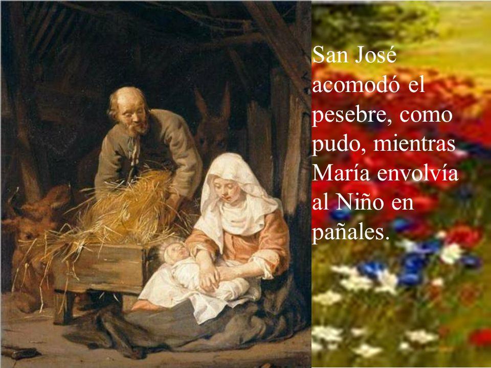Y allí nació Jesús, el Redentor del mundo.