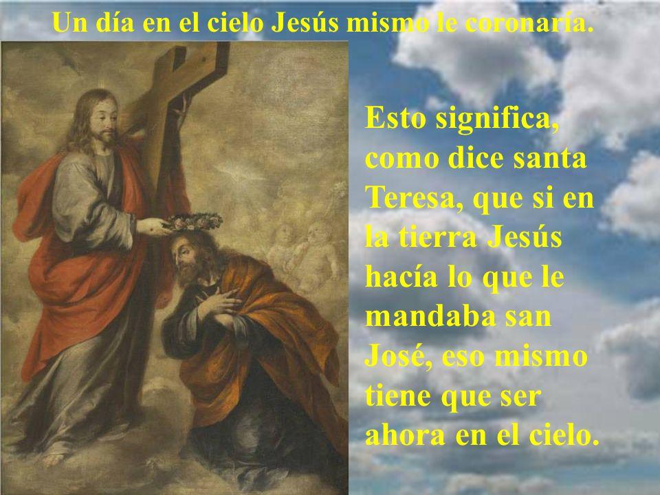 Le llegó la hora de entregar su alma al Creador. San José moría con la muerte más feliz, teniendo a su lado a Jesús y a María. Por eso es el patrono d