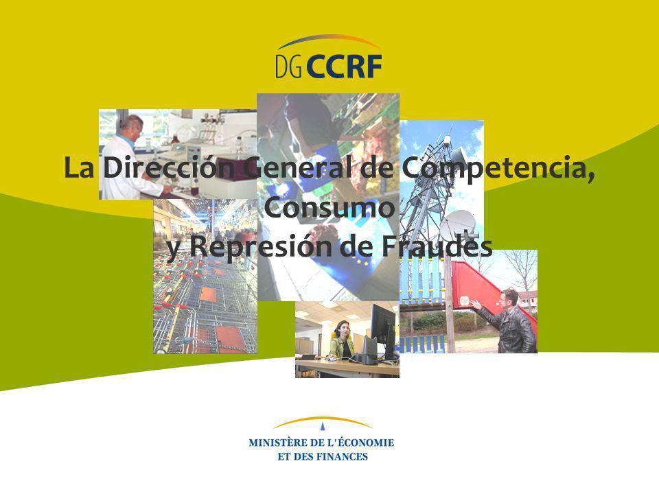 DGCCRF - Enero de 2014 2 La Dirección General de Competencia, Consumo y Represión de Fraudes (DGCCRF) Una labor dedicada al servicio de los consumidores y las empresas.