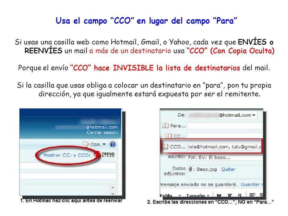 ¿Quiénes son spammers? Son aquellos que utilizan millones de direcciones e-mail para hacer publicidad de compañías que venden productos inservibles, c