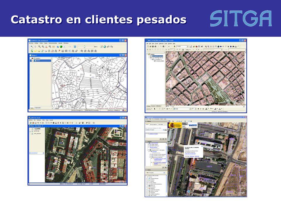 Aplicaciones cliente / Servicios en red / Interfaces Directorio de servicios Catálogo de metadatos Buscador de topónimos Localizador de direcciones Transformación de coordenadas Análisis del relieve Visor 3D