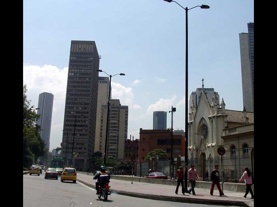 Centro Internacional se constituyó como el primer sector financiero de la ciudad.