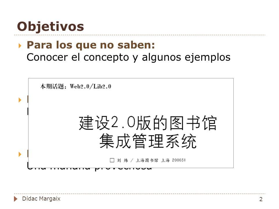 Uso de wikis http://www.libraryforlife.org Subjectguides 53 Dídac Margaix