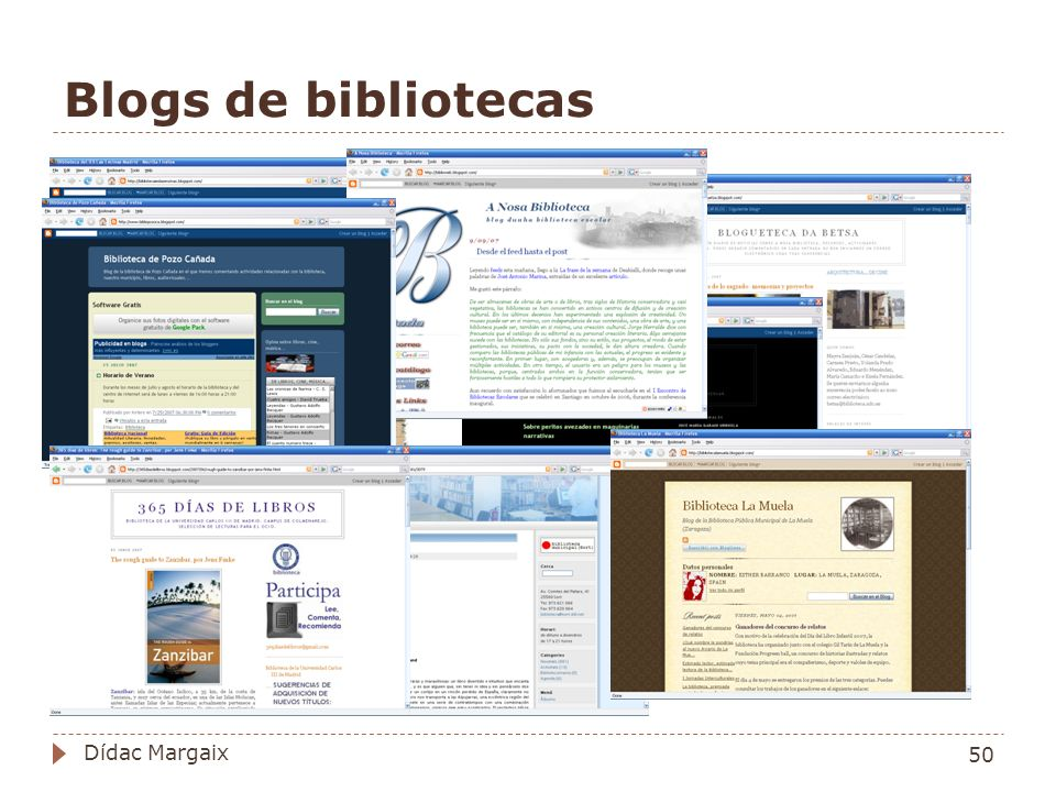 Blogs de bibliotecas 50 Dídac Margaix