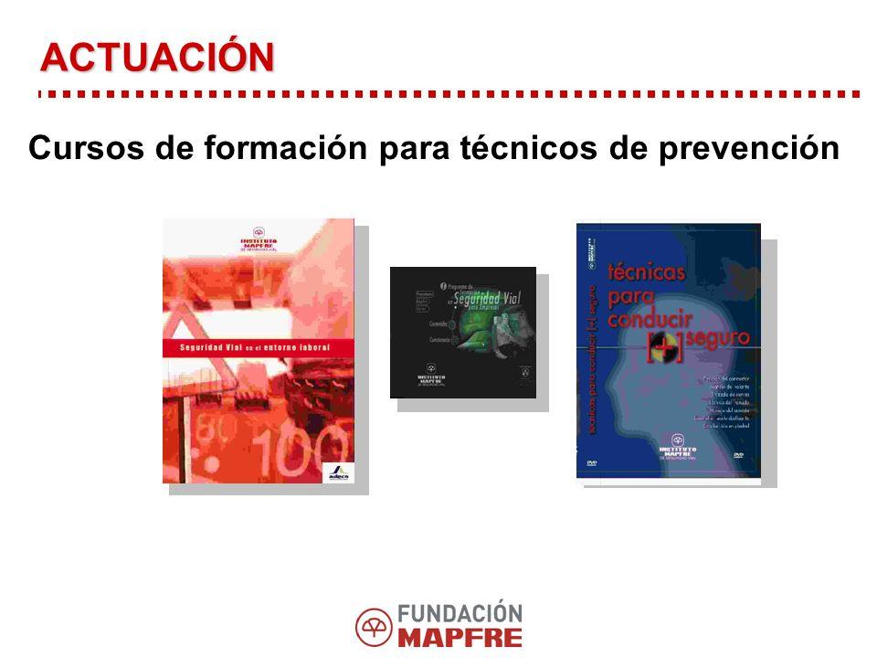 Cursos de formación para técnicos de prevención ACTUACIÓN