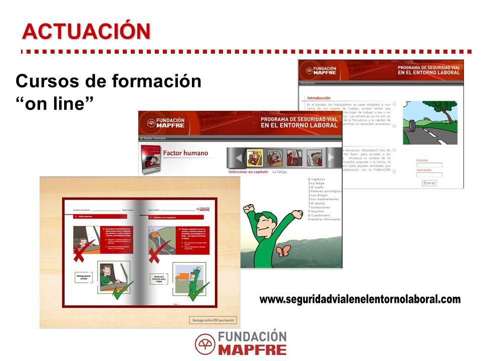 Cursos de formación on line ACTUACIÓN