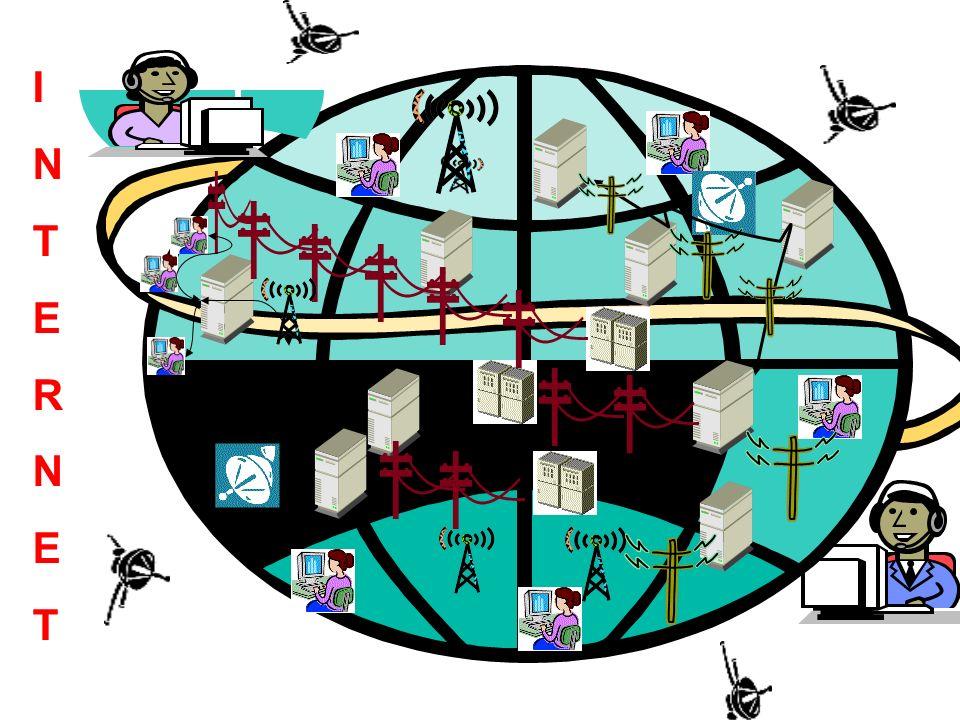 Routers, son sistemas que conectan físicamente varias redes y se encargan de dirigir la información por el camino adecuado.