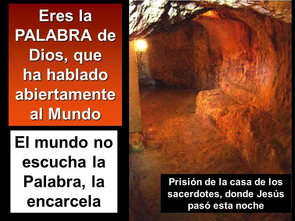 1 2 3 Getsemaní Casa de Anás Casa de Caifás