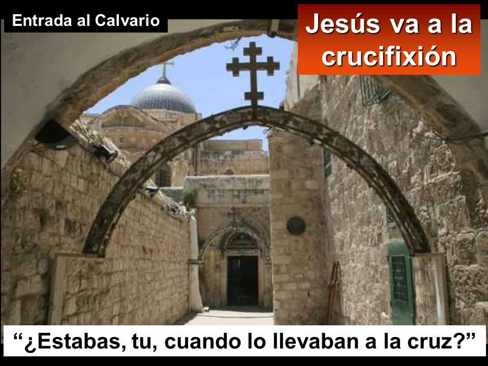 1 2 Getsemaní Casa de Anás Casa de Caifás Pretorio de Pilato 5 Via Dolorosa 3 4