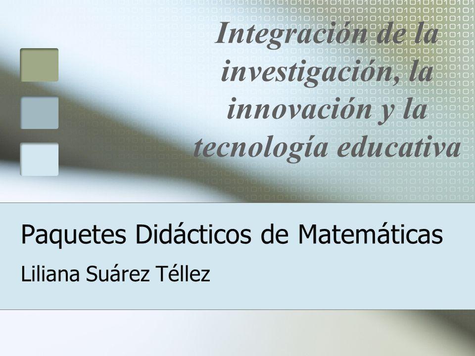Proyecto de Paquetes Didácticos Un Paquete Didáctico (PD) se define como el conjunto de materiales que concreta operativamente los cuatro organizadores del currículo: objetivos, contenidos, metodología y evaluación.