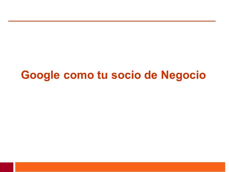 Google como tu socio de Negocio